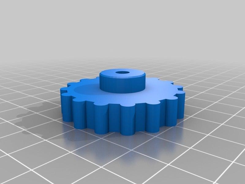 f6f5ed2ad07e7ecfc722bbf6d8dd8284.png Télécharger fichier STL gratuit Boutons avec écrou M4 pour le réglage du lit Alfawise U30 • Plan imprimable en 3D, RSergio_projects