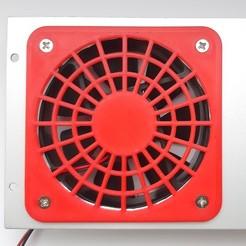 Foto04.jpg Télécharger fichier STL gratuit Grille de ventilateur 80mm • Objet pour imprimante 3D, RSergio_projects