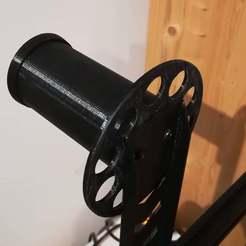 Télécharger modèle 3D gratuit Roulement à rouleaux pour le support des bobines de filament U30 (nouvelle version simplifiée)., RSergio_projects