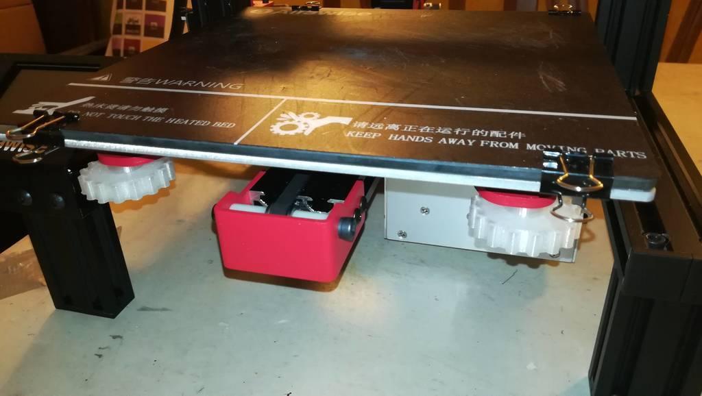 Knobs_nuts_M4_1.jpg Télécharger fichier STL gratuit Boutons avec écrou M4 pour le réglage du lit Alfawise U30 • Plan imprimable en 3D, RSergio_projects