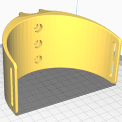 Download free 3D printer designs Equinox 800 Armrest+Stand (3 screws), ponterus