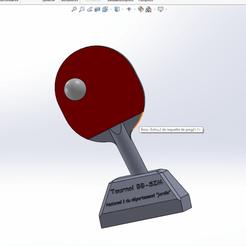 Télécharger objet 3D gratuit Trophée ping pong marrant, SimonB