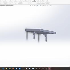Download free 3D print files shelf bracket, SimonB