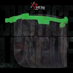 caretas super heroes 12.jpg Télécharger fichier STL Masque de la lanterne verte de DC Comics • Objet à imprimer en 3D, Imatrixz