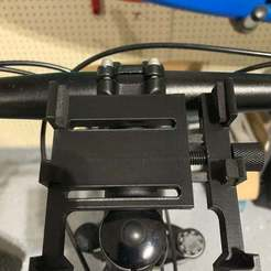 1A3B5FBD-EF4B-4A7B-B978-ADD1F97FE3E1.jpeg Download free STL file Bike Phone Mount • 3D print model, jeremy311