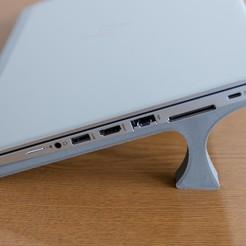 IMG_9387.jpg Télécharger fichier STL Support pour ordinateur portable 13 • Objet pour imprimante 3D, aleksey007