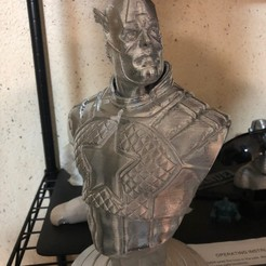 Download free 3D printer designs captain america support, manuguardamar