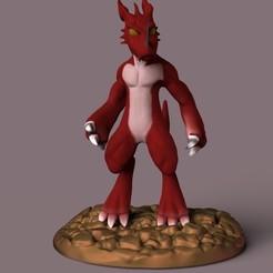 Dragon.6.190.jpg Download STL file DRAGON • 3D printable model, lx_Ander