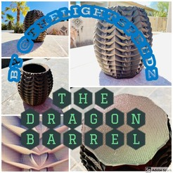 My Post.jpg Download GCODE file Dragon Bucket Vase • 3D printing template, thelightspdz
