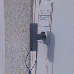 Descargar archivos 3D gratis Llave de la caja de EDF, bibibricodeur