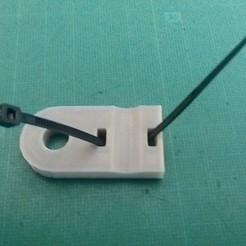 Descargar Modelos 3D para imprimir gratis El clip del cable coaxial de la antena de TV, bibibricodeur