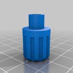 Download free 3D printer designs Simple Rotary Knob, morlac