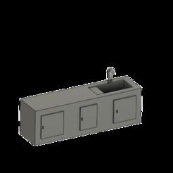 Télécharger fichier STL gratuit meuble miniature cuisine  • Plan pour impression 3D, albanbris