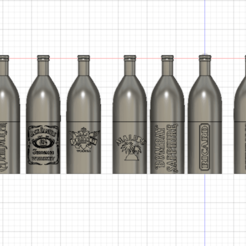 Bouteille jeu v9.png Download free STL file alcohol bottle • 3D print model, albanbris