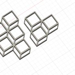Télécharger objet 3D gratuit cube 2D , albanbris