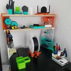 Download 3D printing designs Shelf for Enclosure, paul94