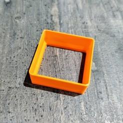 Télécharger fichier impression 3D EMPORTE PIECE CARRE, KCNEWHCS