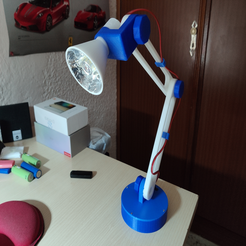 image.png Download free STL file Battery powered articulated LED lamp • 3D printer design, maxmafia