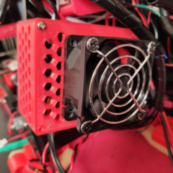 image.png Download free STL file Dual Lerdge mosfet case with fan • Model to 3D print, maxmafia