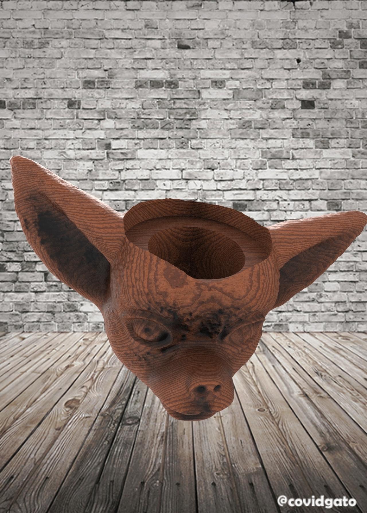untitled.98.jpg Télécharger fichier STL gratuit Mate Chihuahua Dog • Modèle pour imprimante 3D, covidgato