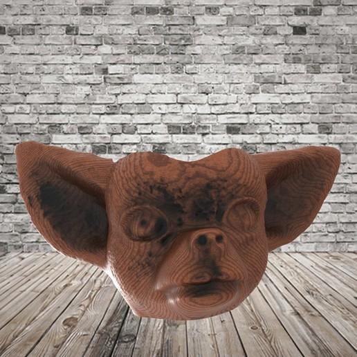 untitled.97.jpg Télécharger fichier STL gratuit Mate Chihuahua Dog • Modèle pour imprimante 3D, covidgato