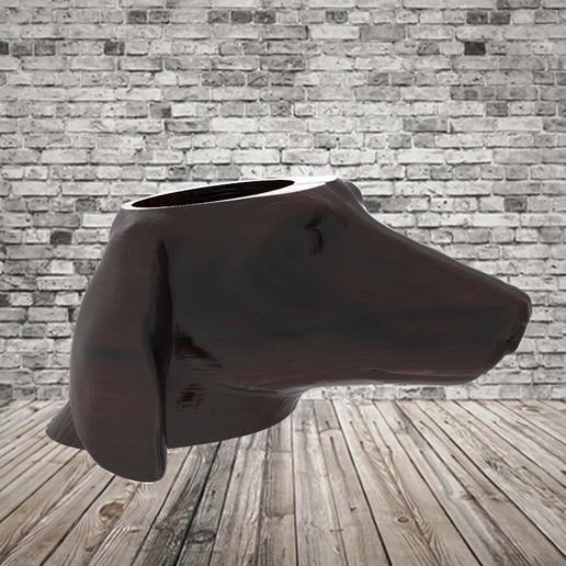 untitled.107.jpg Télécharger fichier STL gratuit Mate Dachshund - Dachshund • Plan pour impression 3D, covidgato
