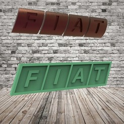 Download free STL file Fiat Logo x 2, covidgato