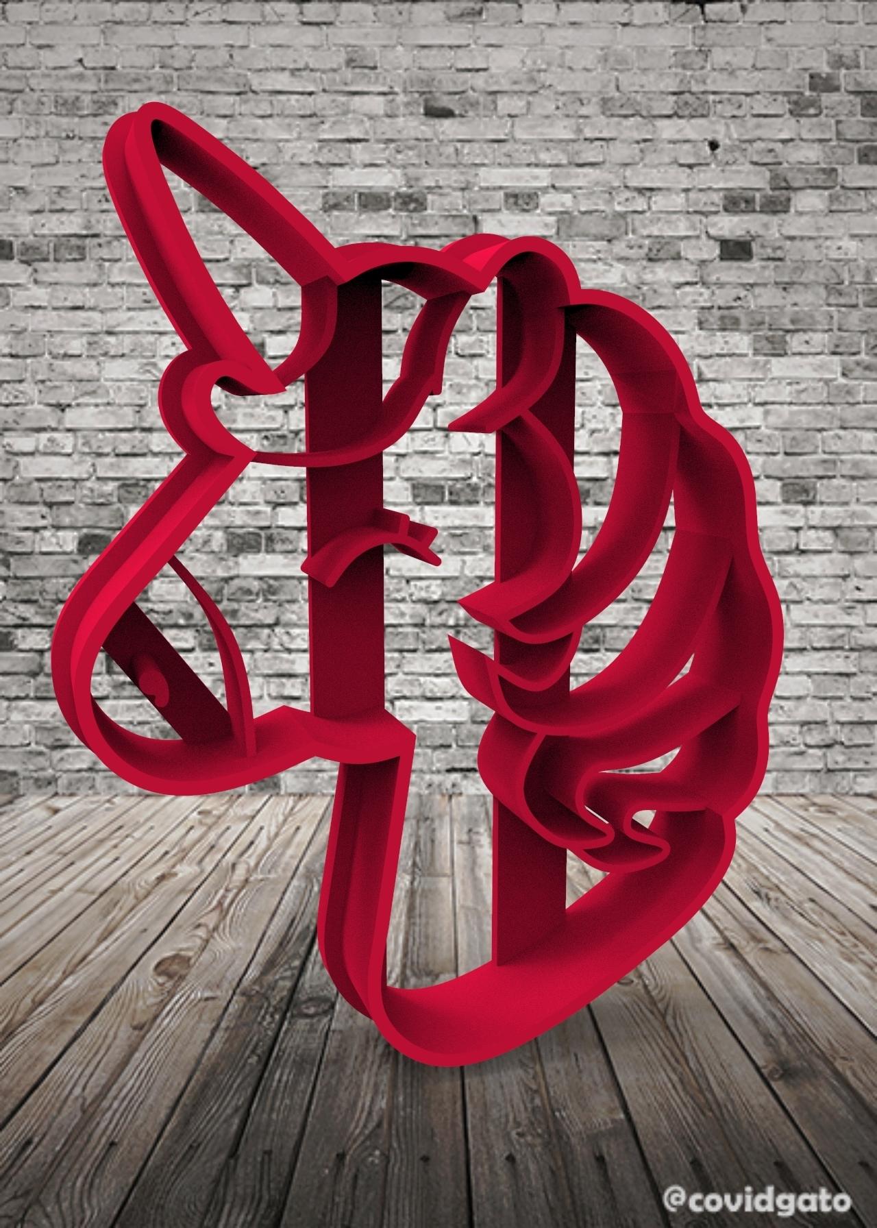 untitled.140.jpg Download free STL file Unicorns - Unicorn • 3D printing template, covidgato