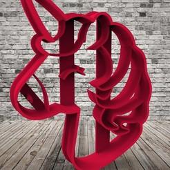 Télécharger fichier STL gratuit Licorne - Licorne • Design pour imprimante 3D, covidgato
