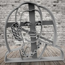 Download free STL file Avoid cookie cutter - Peronist Cookie • 3D print object, covidgato