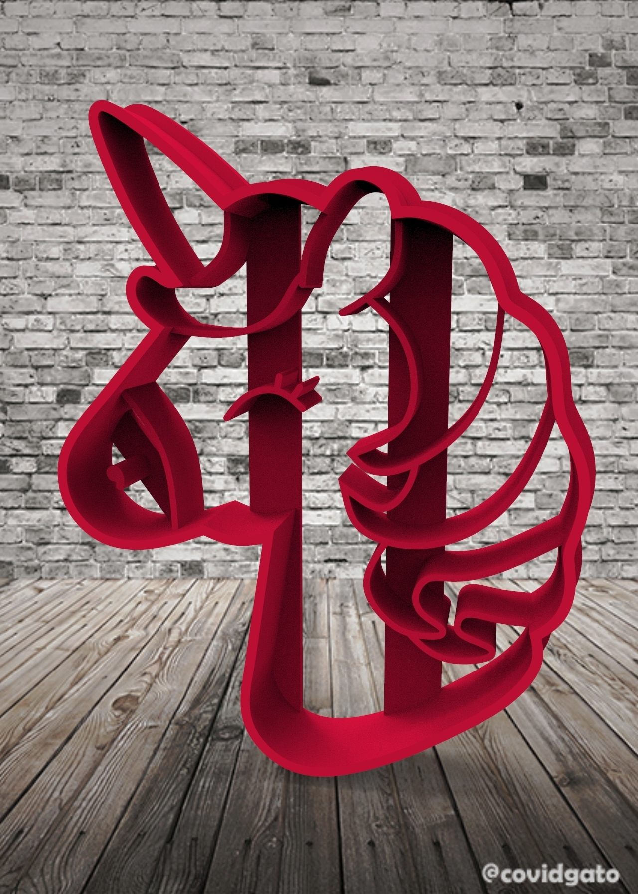 untitled.141.jpg Download free STL file Unicorns - Unicorn • 3D printing template, covidgato