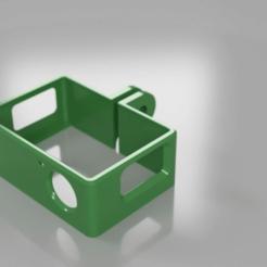 GoPro_32B_v6_Render_2018-Jan-27_06-07-29PM-000_CustomizedView18210956066.png Download free STL file Go Pro 3 Plus Frame Holder • 3D print object, EaziG