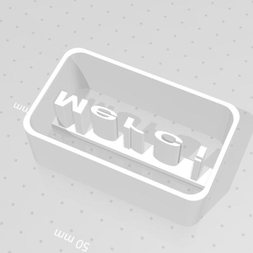 3D-printersjablonen downloaden Punch THANK YOU, pierrot92