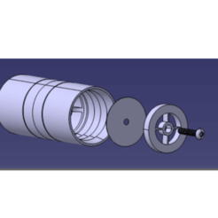 Download free 3D printing templates Check-valve for respirators, facundososarey