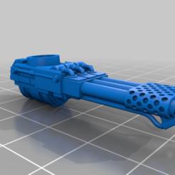 Descargar archivos 3D gratis Cañón del Infierno para el Adeptus Titanicus Lucius Warhound, Atomschlumpf