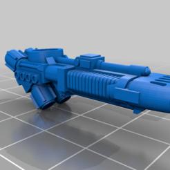 Télécharger fichier impression 3D gratuit Un fusil à plasma pour le chien de guerre Adeptus Titanicus Lucius, Atomschlumpf