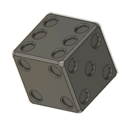 Capture d'écran 2021-01-19 à 10.06.13.png Download free STL file Dice • 3D printable template, naloo