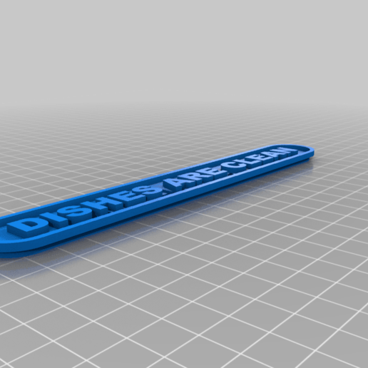Dirty.png Download free STL file Dirty / Clean dishes sign IDEX Printer • 3D printing object, bruceagordon
