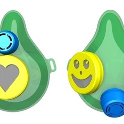 Descargar modelos 3D gratis Máscara de Covidio Flexible, specksandhickl