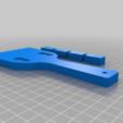 Download free STL file Yosakoi Naruko Clapper • Template to 3D print, chiujason