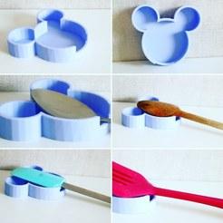Imprimir en 3D gratis Detener el goteo, Mickey, Spideog15
