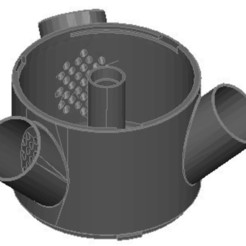 Imprimir en 3D gratis Torno de fresado hidropónico, Spideog15
