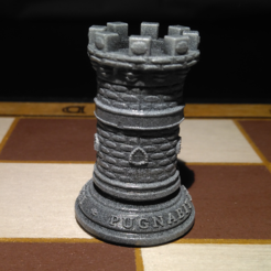 Torre.PNG Download STL file Chess Tower • 3D printable model, jjsarte3d