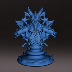 Diseño_Enano_F.PNG Download STL file Dwarf with base, miniature, board game, dyd, warhammer, base, stage, role • Design to 3D print, jjsarte3d
