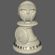 Peon_G.PNG Download STL file Spartan Chess Pawn • 3D printer model, jjsarte3d