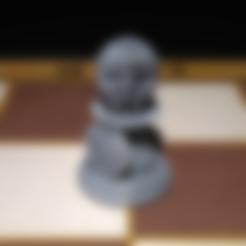 Peon_R.stl Download STL file Spartan Chess Pawn • 3D printer model, jjsarte3d