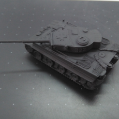 Tiger_Ar.PNG Download STL file Tiger tank with rotating turret • Object to 3D print, jjsarte3d