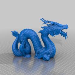 Imprimir en 3D gratis Dragón chino en miniatura, syzguru11