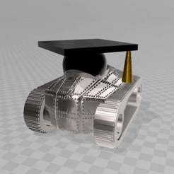 Download free 3D printer templates student tank - Studentenkampfpanzer, syzguru11