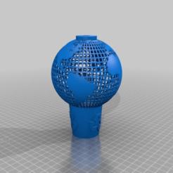 Télécharger fichier STL gratuit le globe dans la corbeille à papier - le retour à la maison, syzguru11